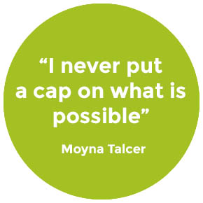 Quote from Moyna Talcer